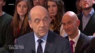 Alain Juppé Face A François Hollande En Direct