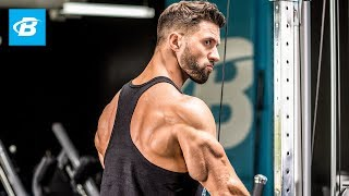 """Triceps Blasting Workout   Julian """"The Quad Guy"""" Smith by Bodybuilding.com"""