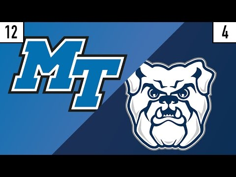 12 Middle Tennessee vs. 4 Butler Prediction | Who's Got Next?