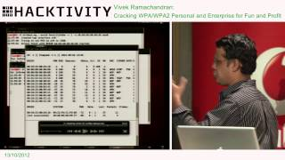 Hacktivity2012-VivekRamachandran-CrackingWPA/WPA2PersonalandEnterpriseforFunandProfit