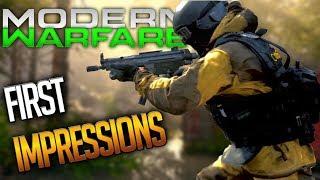 MODERN WARFARE FIRST IMPRESSIONS | 2v2 FLAWLESS GAMEPLAY!
