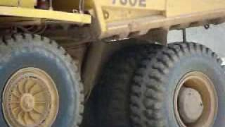 preview picture of video 'Komatsu Mining Trucks - Orapa Diamond Mine'