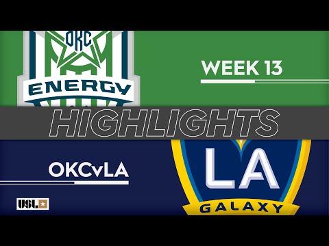 Оклахома Сити Энерджи - LA Galaxy 2 0:0. Видеообзор матча 02.06.2019. Видео голов и опасных моментов игры