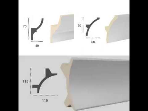 Istruzioni di posa cornici per illuminazione indiretta led per soffitto e parete