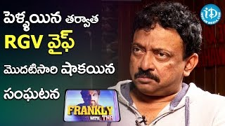 RGV About Shocking Incident With His Wife || RGV Interview || Frankly With TNR || Talking Movies