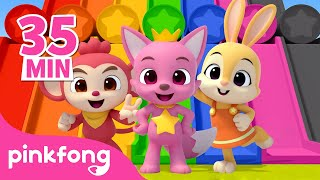 Learn Colors with Pinkfong and Friends!   @Hogi! Pinkfong - Learn & Play   Pinkfong Videos for Kids