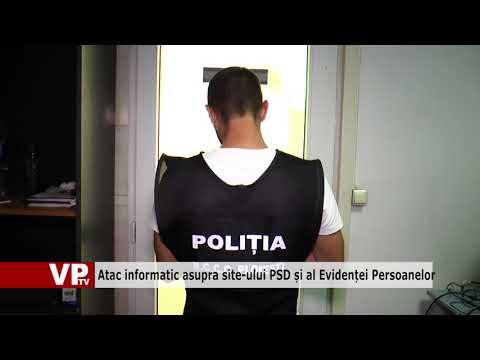 Atac informatic asupra site-ului PSD și al Evidenței Persoanelor