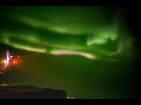 Seeing The Northern Lights At 10,600 Metres Is The Best Reason To Fly To Iceland