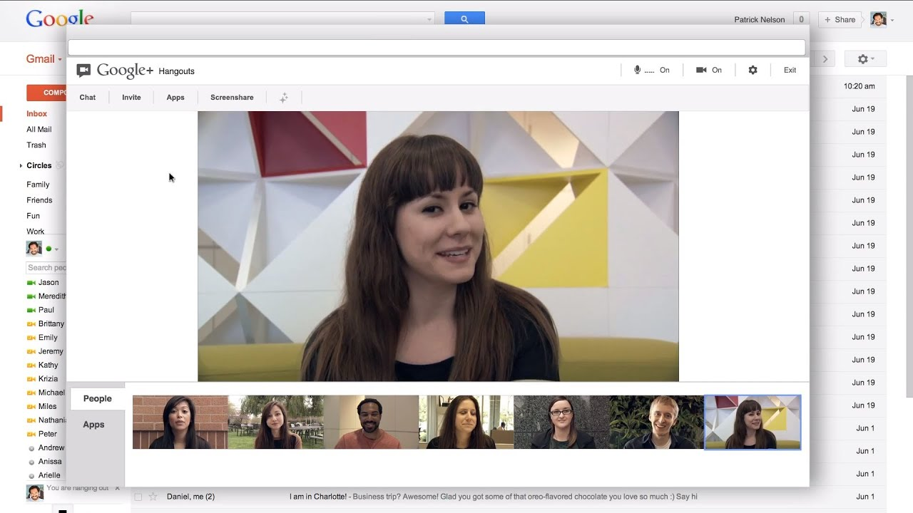 Google+ Hangouts Brings Nine-Way Video Chats To Gmail