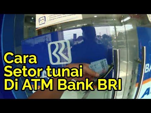 Begini caranya, setor uang tunai di ATM Bank BRI