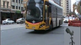 preview picture of video 'Adelaide, Rundle Mall 2014'