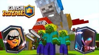 Клеш Рояль в Майнкрафт с Легендарками / Clash Royale in Minecraft with Legendary