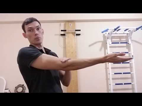 Как разработать локоть после перелома (1 часть)