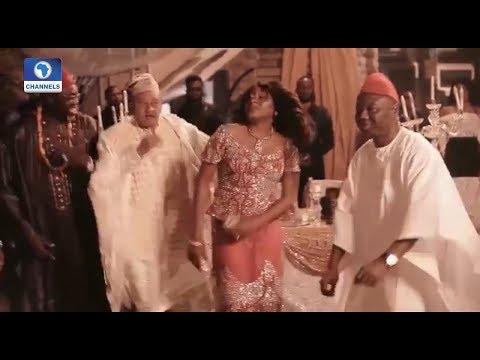 Comedian AY Begins Shoot For 'Yoruba Demon' Movie | EN |