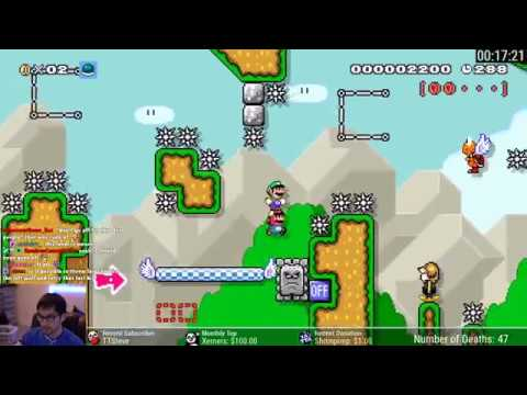 The HARDEST Luigi Wins by Doing Absolutely Nothing Level in Super Mario Maker 2
