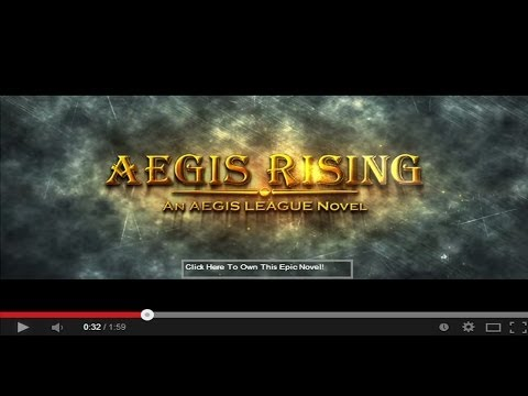 Aegis Rising Book Trailer