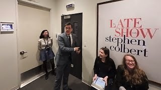 Stephen Colbert's 360 Tour of The Late Show