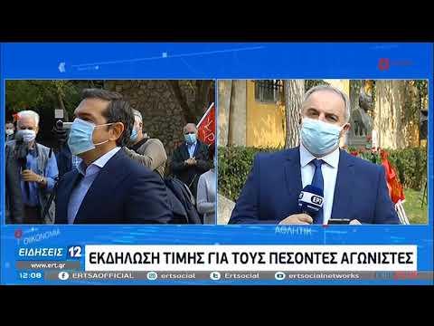 Α.Τσίπρας | Κατάθεση Στεφάνου στα κρατητήρια του ΕΑΤ-ΕΣΑ | 17/11/20 | ΕΡΤ