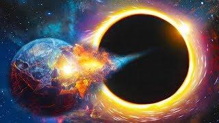 ماذا لو سقطت الارض في الثقب الاسود !!