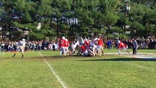 Connor Morgan scores Manasquan's third TD vs. Wall