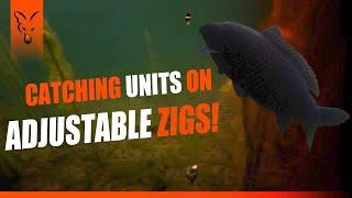 Карповые монолески fox international zig floater hooklink