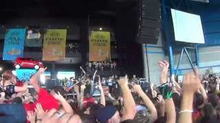 Chiodos -- Two Birds Stoned At Once (Live at Warped Tour Milwaukee 2013)