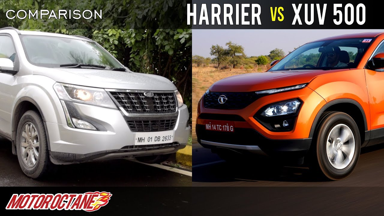 Motoroctane Youtube Video - Tata Harrier vs Mahindra XUV 500 Comparison | Hindi | MotorOctane