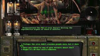 Fallout 1 ending: the master kills himself