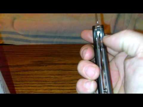 Ruike Ruike Kés P121-B Fekete videó