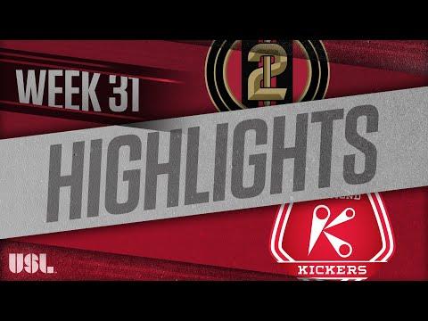 Atlanta United 2 - Ричмонд Кикерс 3:2. Видеообзор матча 14.10.2018. Видео голов и опасных моментов игры