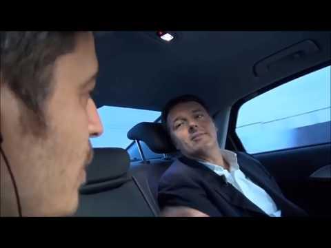 Matteo Renzi intervistato da Pif ne &quotIl candidato va alle elezioni&quot