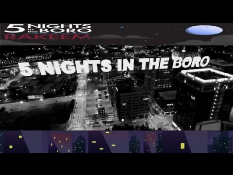 Rakeem - 5 Nights In The Boro Promo