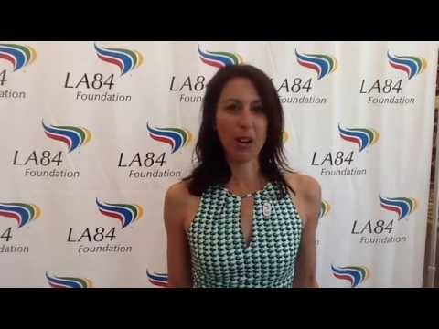 Interview with Janet Evans at LA84 Foundation