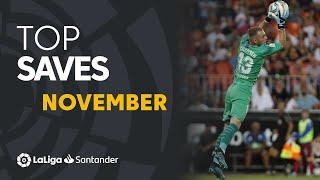 TOP Paradas Noviembre LaLiga Santander 2019/2020