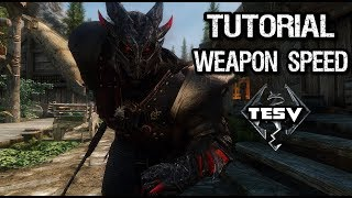 Skyrim tutorial: How to increase weapon speed