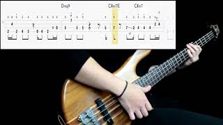Patrice Rushen   Forget Me Nots (Bass Cover) (Play Along Tabs In Video)