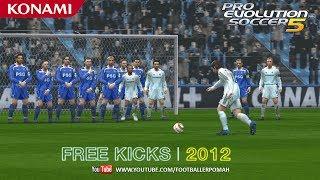 PES 5 | Free kicks [best of the 2012]
