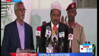 Mohammed Ali calls for Somalia reunification