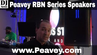 Peavey RBN Series Ribbon Driver Mobile DJ Speakers | Disc Jockey News