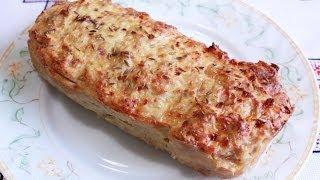 Блюда из фарша Мясной хлеб рецепт из фарша Мясной хлебец М