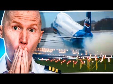 747 Slams Landing So Hard They Bounce   Viral Debrief