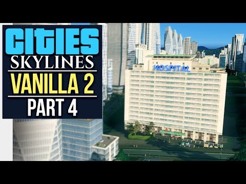 IS A HOTDOG A SANDWICH? // Cities: Skylines | Vanilla Let's Play 2 - Part 4
