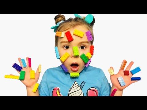 София и мама - веселая история про лего | pretend play LEGO HANDS