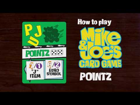 How to Play Pointz of Mike & Joe's Card Game