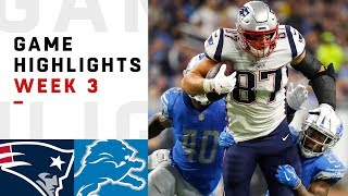 Patriots vs. Lions Week 3 Highlights | NFL 2018 - Video Youtube
