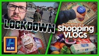 Aldi Shopping VLOG in Coronavirus LOCKDOWN!