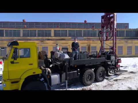 Буровая установка ЛБУ-50 (геологоразведка)