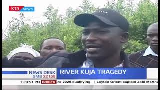 Two people have drowned in River Kuja in Migori county after their boat capsized