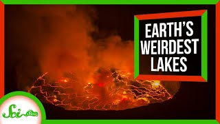 5 Of Earths Weirdest Lakes | Compilation