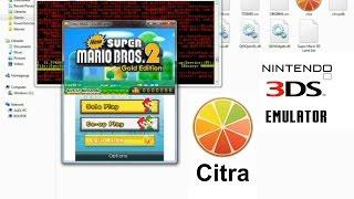 Citra 3DS Emulator - New Super Mario Bros 2
